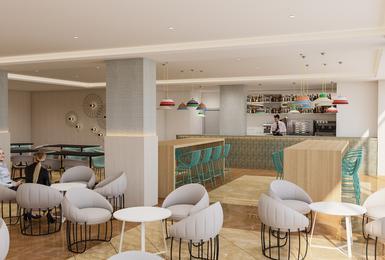 Bar 2019 (Render) AluaSun Torrenova Hotel Palmanova, Mallorca