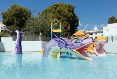 Splashpool AluaSun Torrenova Hotel Palmanova, Mallorca